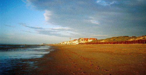 am Strand von De Haan