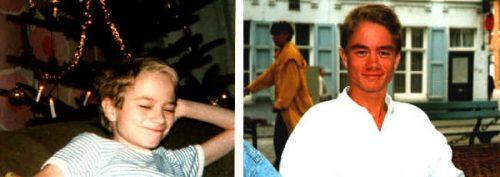 links : um ca 1981 & rechts : war 1998